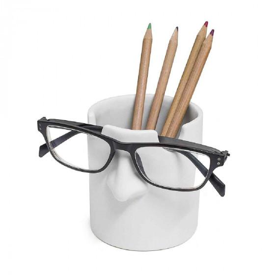 Pot à crayons et repose lunettes