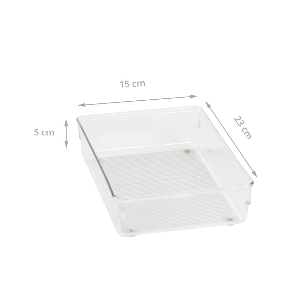 organiseur de tiroir en plastique transparent rangement bureau. Black Bedroom Furniture Sets. Home Design Ideas