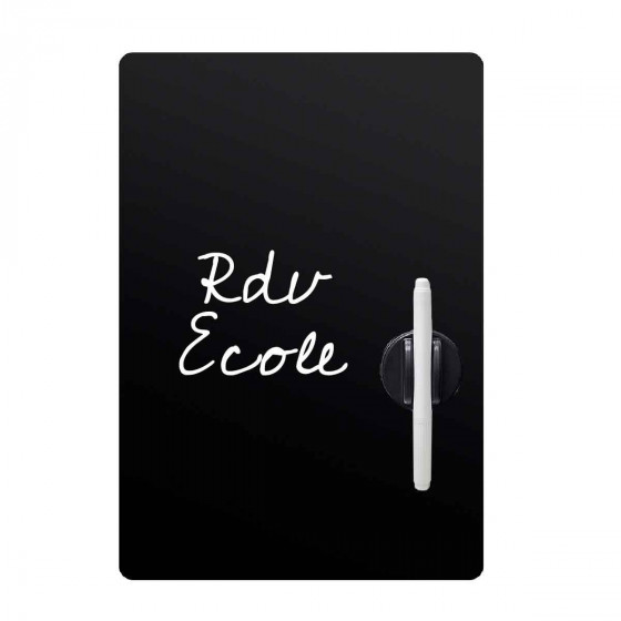 Tableau noir magnétique pour frigo