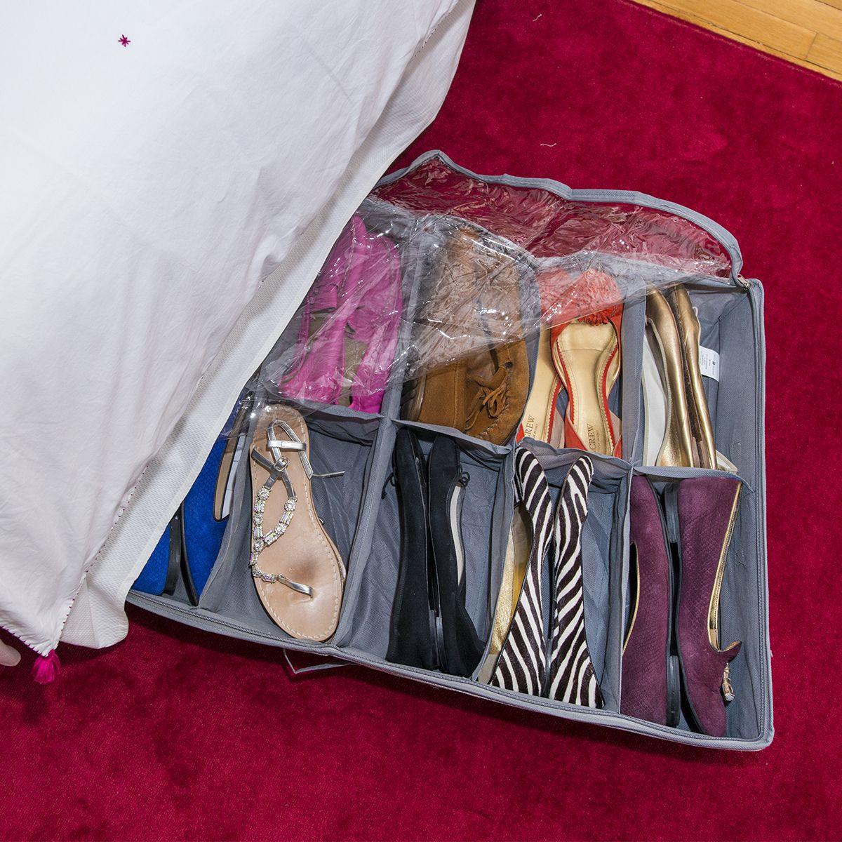 ... Rangement pour 12 paires de chaussures sous le lit ... c9651903d21f