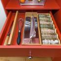 Dérouleur de cuisine pour tiroir