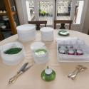 5 housses pour vaisselle