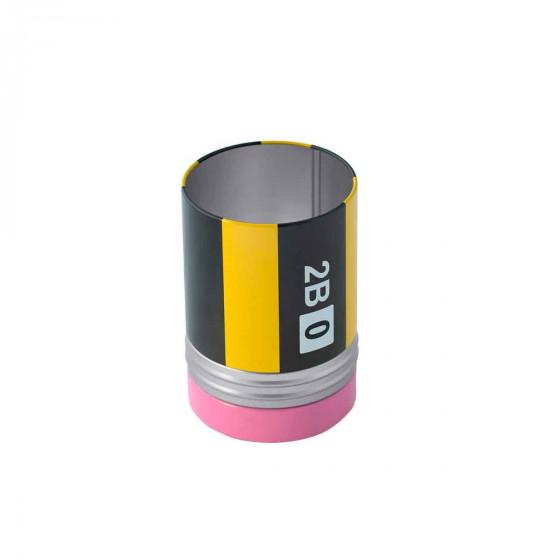 Pot à crayons original avec compartiment