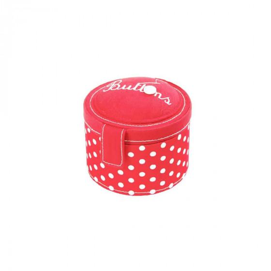 Boîte à boutons de couture