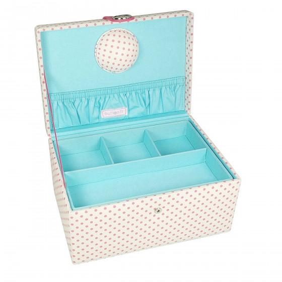 Boîte à couture en tissu (L)
