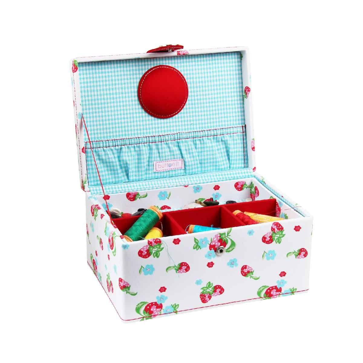 Boîte de rangement couture - 24,5x13x17
