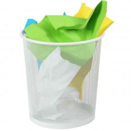 Corbeille à papier blanche
