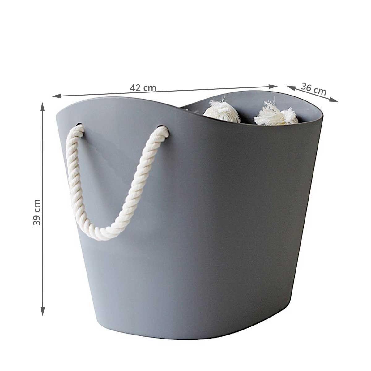 panier de rangement design 38 litres. Black Bedroom Furniture Sets. Home Design Ideas