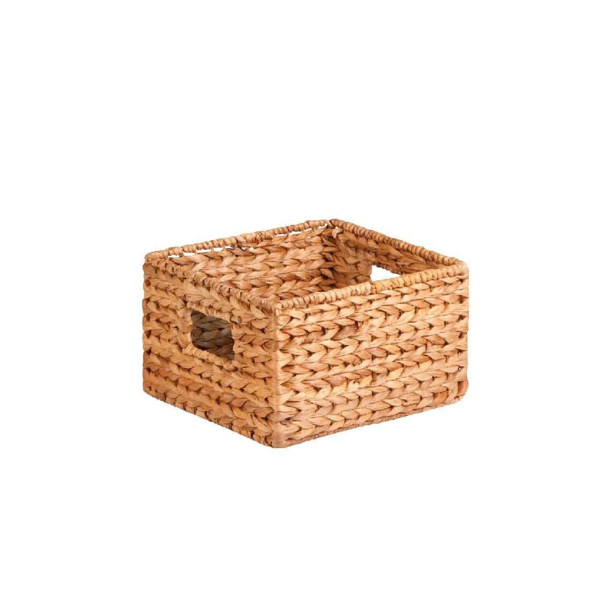 petit rangement carr en jacinthe d 39 eau 15x23x23. Black Bedroom Furniture Sets. Home Design Ideas