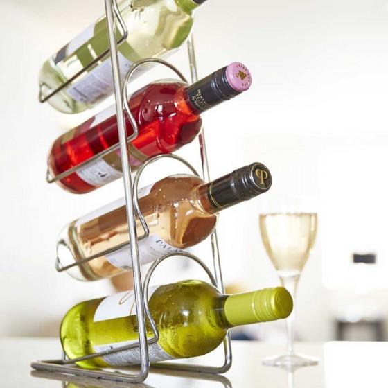 Rangement vertical pour 4 bouteilles