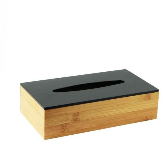 Boîte à mouchoirs en bambou