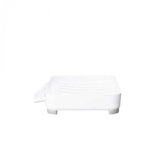Porte savon égouttoir blanc