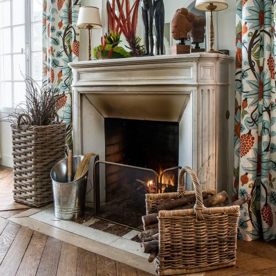 Pelle et balayette pour cheminée