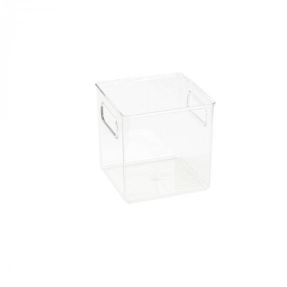 Organisateur S de réfrigérateur ou placard en plastique transparent