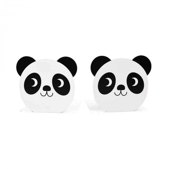 2 serre-livres pour enfant panda