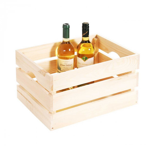 Cagette en bois de pin L