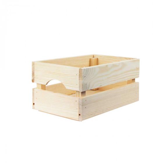 Boîte de rangement en pin S