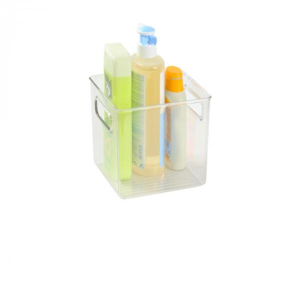 Organisateur S de placard en plastique transparent