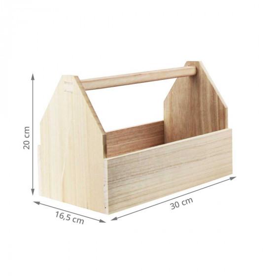 Caisse à outil en bois