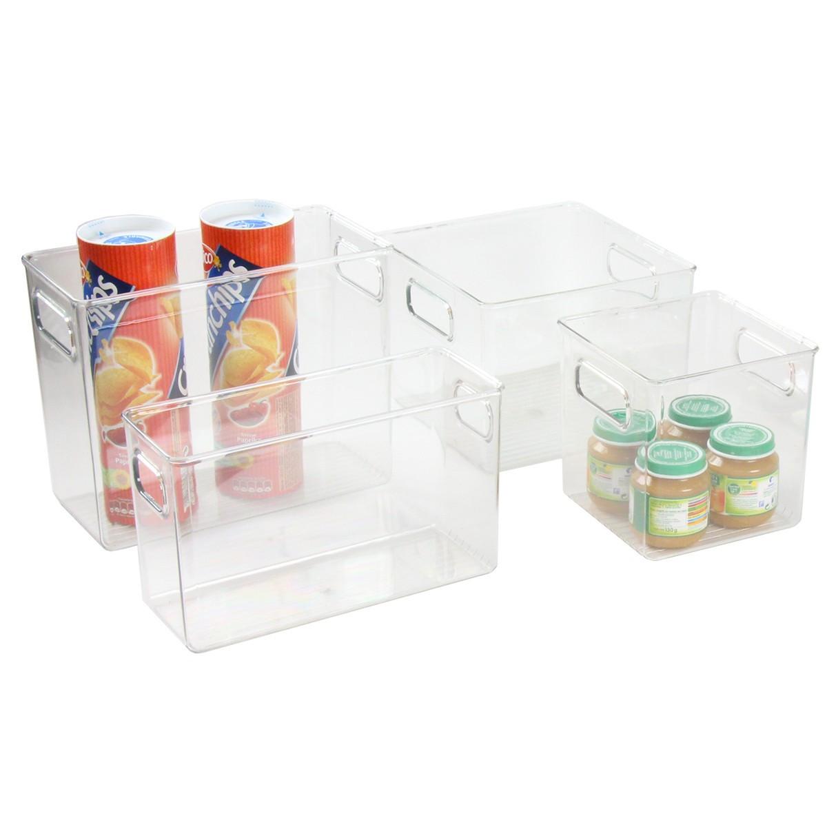Organisateur de refrigerateur ou placard en plastique - Placard plastique rangement ...