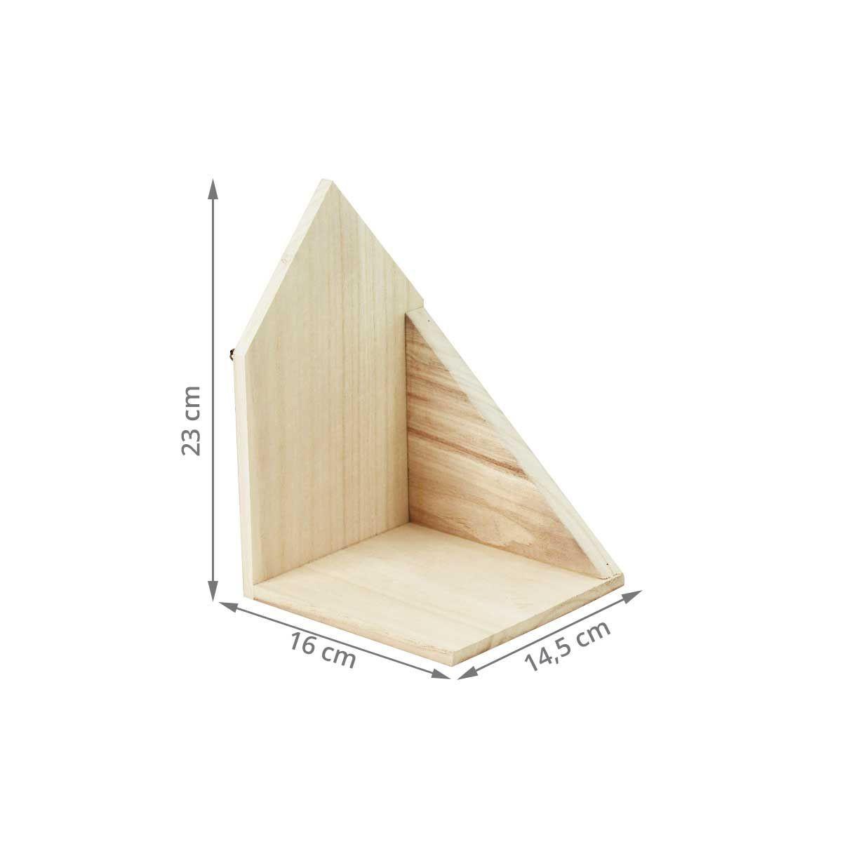 petites tag res murales en bois naturel. Black Bedroom Furniture Sets. Home Design Ideas