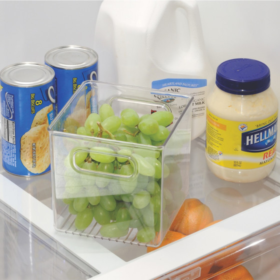 Organisateur placard ou r frig rateur rangement cuisine - Organisation placard cuisine ...