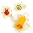 Set 3 films alimentaires réutilisables