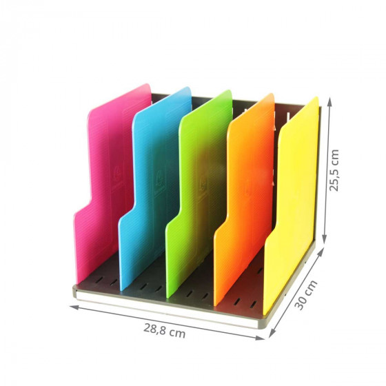 Trieur vertical à 4 compartiments