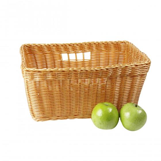 Corbeille à fruits et légumes façon osier
