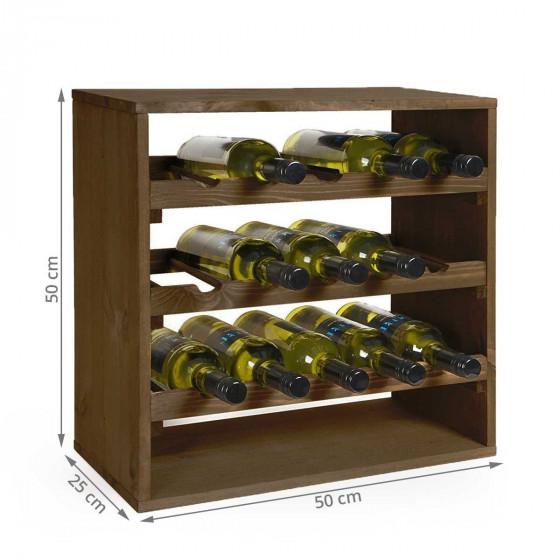 Etagère à vin cube