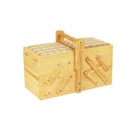 Petite boîte à couture en bois