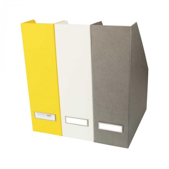 Range-revues jaune