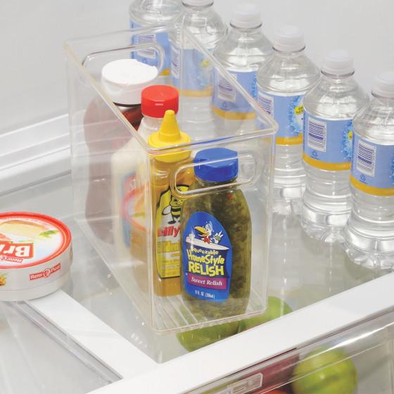 organisateur transparent pour placard de cuisine