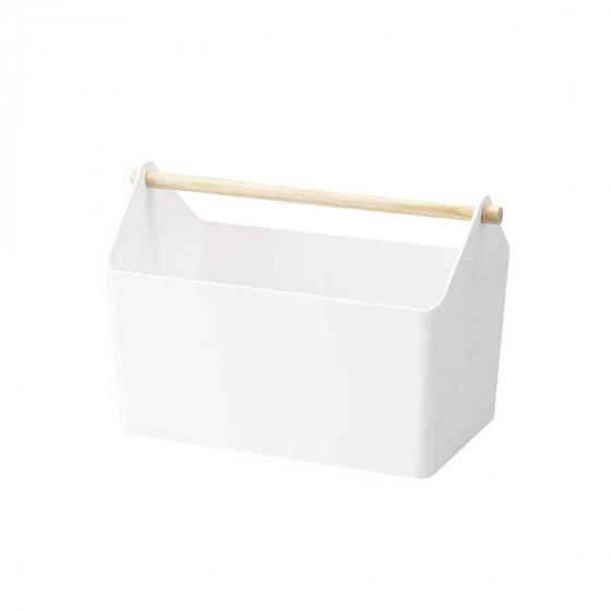 Rangement de salle de bain avec poignée