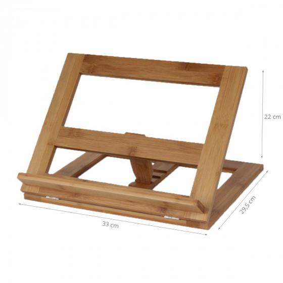 Lutrin de cuisine en bois