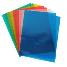 10 Pochettes colorées en PVC