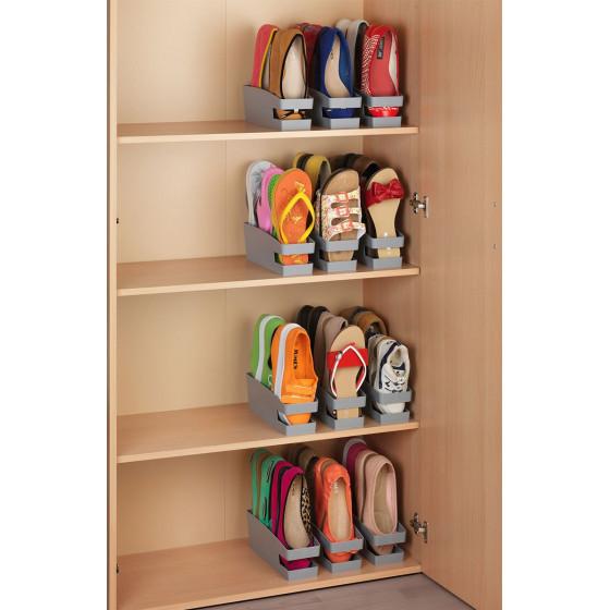3 Range chaussures gain de place