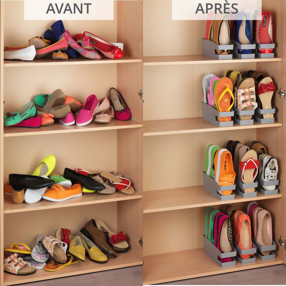 range chaussures gain de place
