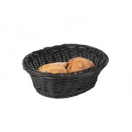 Panier à pain noir lavable