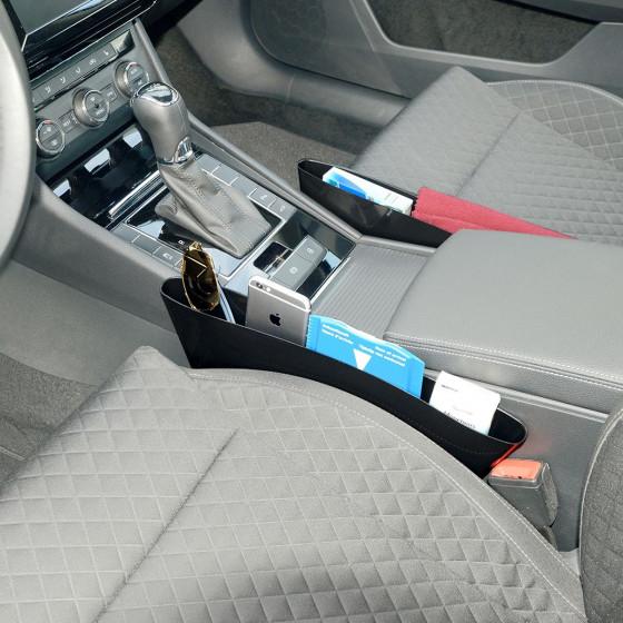 2 pochettes de rangement pour siège de voiture