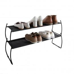 2 étagères à chaussures superposables