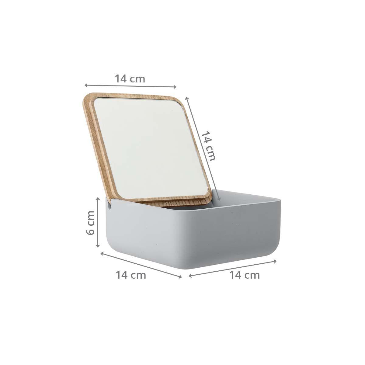 fabriquer une boite à bijoux miroir