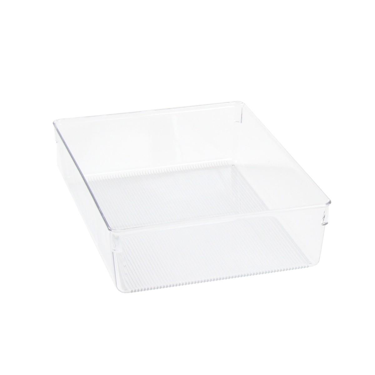 s parateur de tiroir transparent organisation de tiroirs. Black Bedroom Furniture Sets. Home Design Ideas