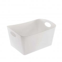 Bac de rangement blanc de 15 litres