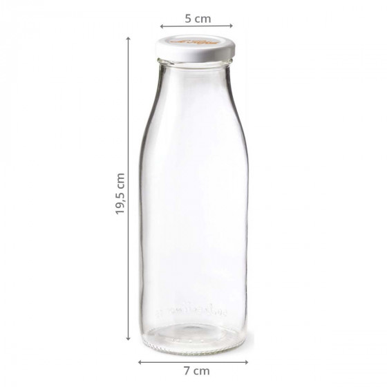 Bouteille en verre 500 ml