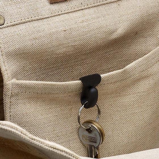 2 accroche-clés pour sac