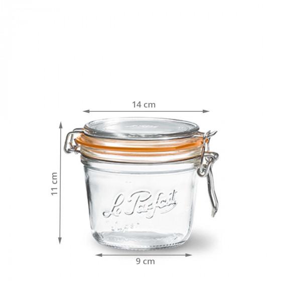 Bocal en verre Le Parfait 500 ml
