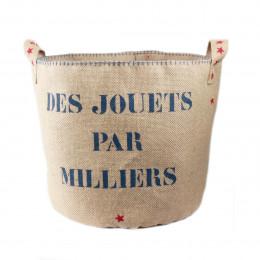 Sac à jouets fabriqué en France
