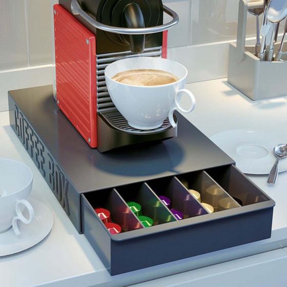 Tiroir de rangement pour capsules de café