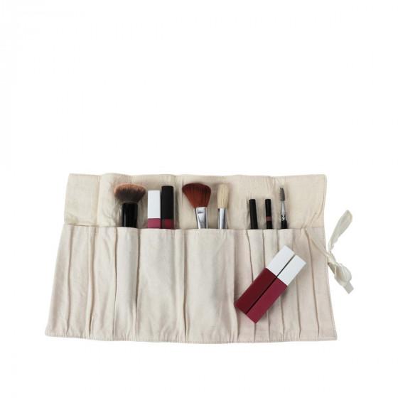 Pochette pour crayons et pinceaux de maquillage